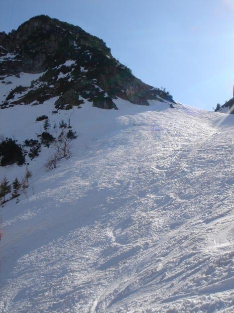 Foto: Manfred Karl / Ski Tour / Auf den Hochfelln von Kohlstatt / 03.01.2010 18:43:27