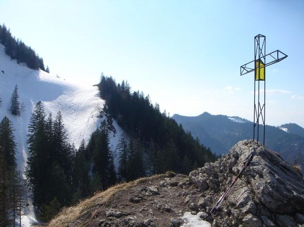 Foto: Manfred Karl / Ski Tour / Auf den Hochfelln von Kohlstatt / Kleiner Abstecher von der Piste / 03.01.2010 18:42:59