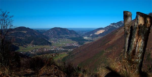 Foto: schrutkaBua / Wander Tour / Eibling 1.108m / Blick Richtung Leonstein / 05.01.2010 16:09:12