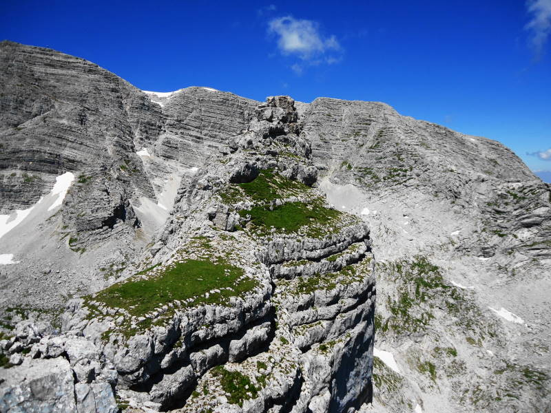 Foto: Günter Siegl / Wander Tour / Ramesch (2.119m) - Ost/West-Überschreitung / Zum Hauptgipfel / 28.07.2017 20:37:33