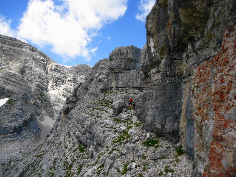 Foto: Günter Siegl / Wander Tour / Ramesch (2.119m) - Ost/West-Überschreitung / Am Abstieg / 28.07.2017 20:36:50