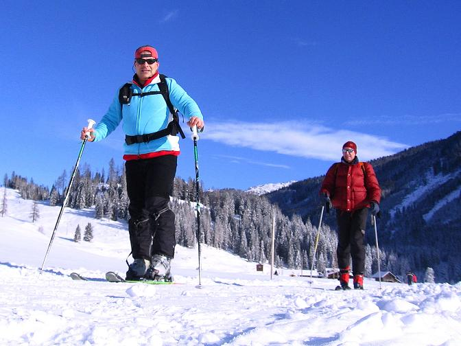 Foto: Andreas Koller / Ski Tour / Traumtour auf Spirzinger und Spazeck (2066 m) / 06.01.2010 02:20:41