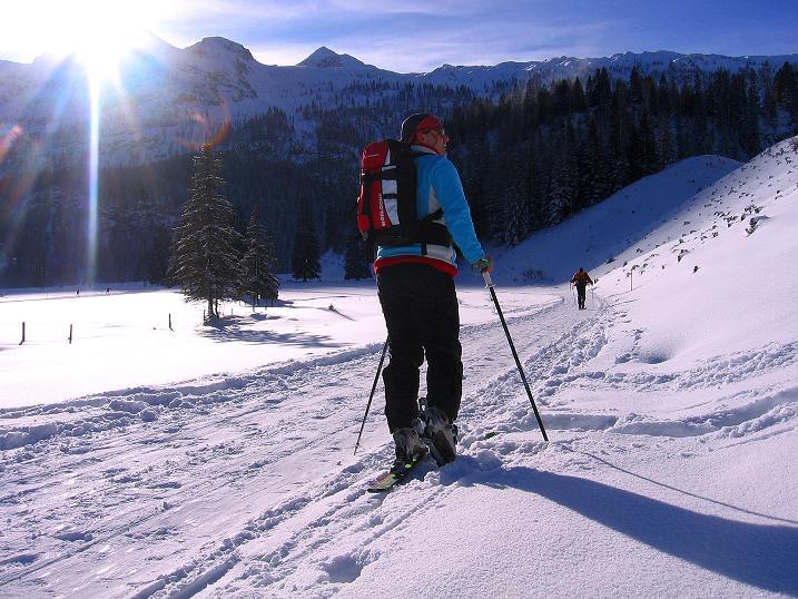 Foto: Andreas Koller / Ski Tour / Traumtour auf Spirzinger und Spazeck (2066 m) / 06.01.2010 02:19:58