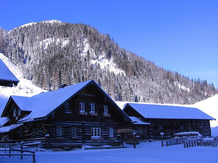 Foto: Andreas Koller / Ski Tour / Traumtour auf Spirzinger und Spazeck (2066 m) / Hintergnadenalm / 06.01.2010 02:19:39