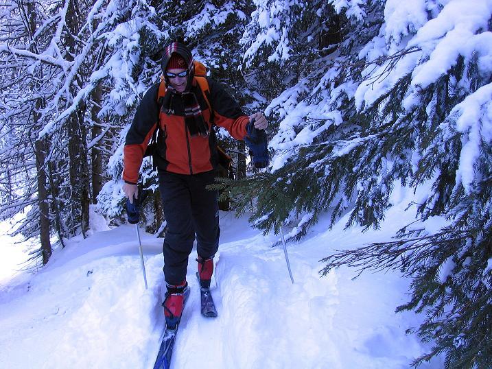 Foto: Andreas Koller / Ski Tour / Traumtour auf Spirzinger und Spazeck (2066 m) / 06.01.2010 02:19:25