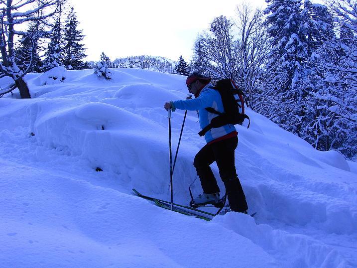 Foto: Andreas Koller / Ski Tour / Traumtour auf Spirzinger und Spazeck (2066 m) / 06.01.2010 02:19:17