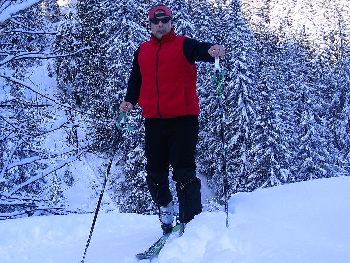 Foto: Andreas Koller / Ski Tour / Traumtour auf Spirzinger und Spazeck (2066 m) / 06.01.2010 02:19:02