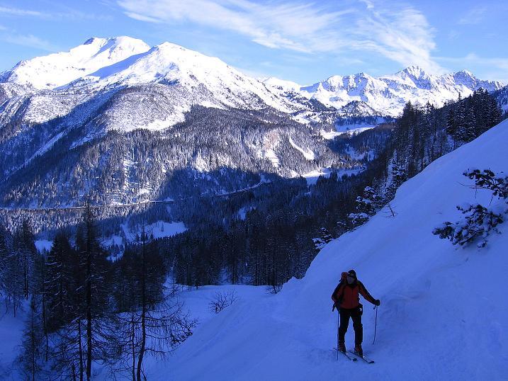Foto: Andreas Koller / Ski Tour / Traumtour auf Spirzinger und Spazeck (2066 m) / 06.01.2010 02:18:23