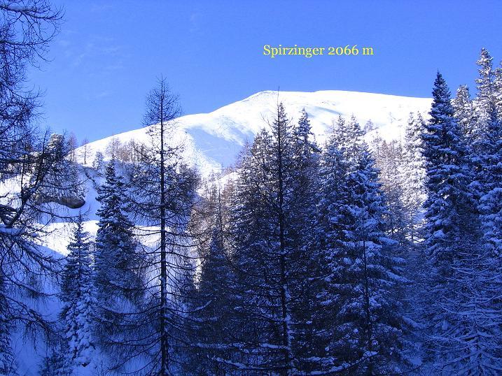 Foto: Andreas Koller / Ski Tour / Traumtour auf Spirzinger und Spazeck (2066 m) / 06.01.2010 02:18:16