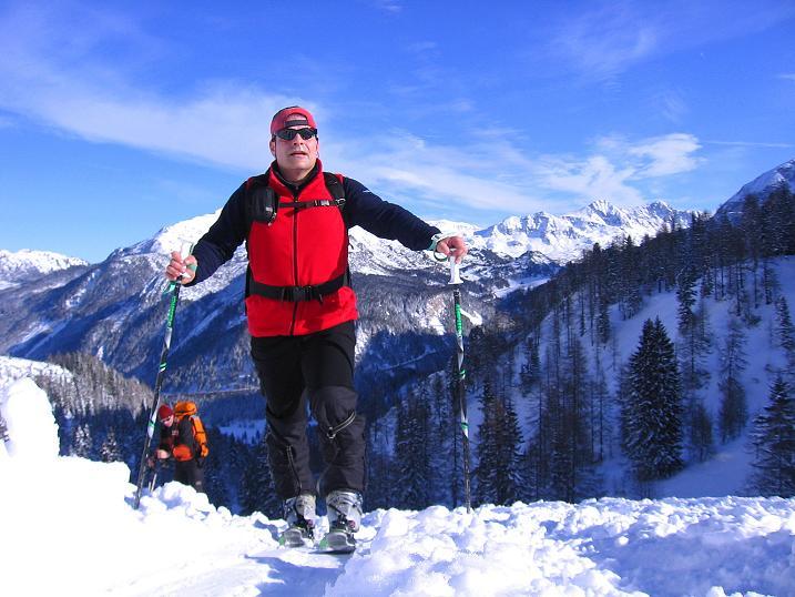 Foto: Andreas Koller / Ski Tour / Traumtour auf Spirzinger und Spazeck (2066 m) / 06.01.2010 02:17:35
