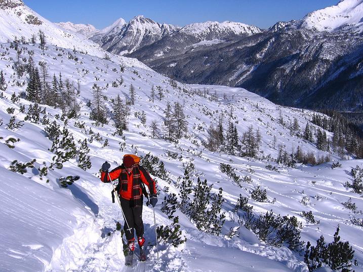 Foto: Andreas Koller / Ski Tour / Traumtour auf Spirzinger und Spazeck (2066 m) / 06.01.2010 02:14:25