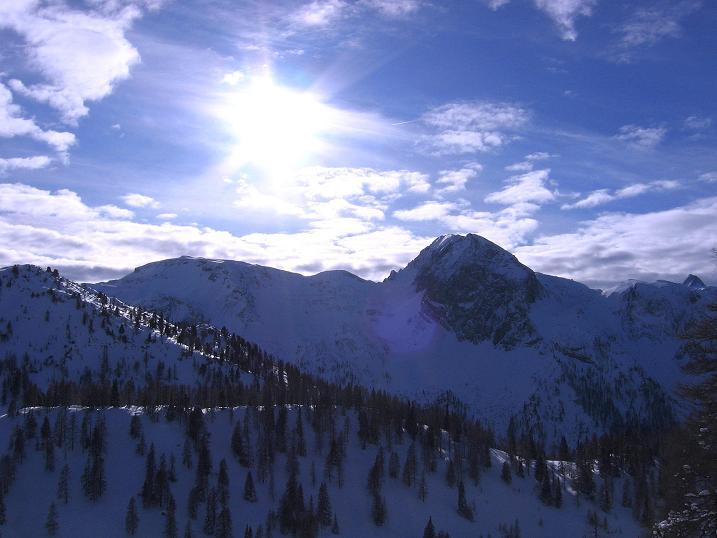 Foto: Andreas Koller / Ski Tour / Traumtour auf Spirzinger und Spazeck (2066 m) / Permuthwand (2479 m) / 06.01.2010 02:14:00
