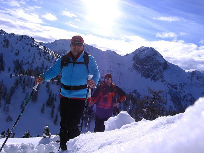 Foto: Andreas Koller / Ski Tour / Traumtour auf Spirzinger und Spazeck (2066 m) / 06.01.2010 02:13:44