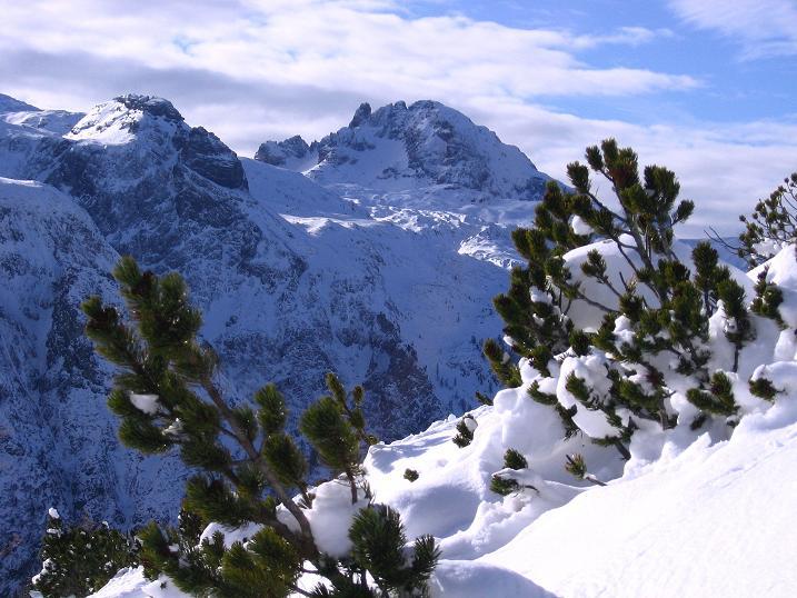 Foto: Andreas Koller / Ski Tour / Traumtour auf Spirzinger und Spazeck (2066 m) / Faulkogel (2654 m) / 06.01.2010 02:13:36