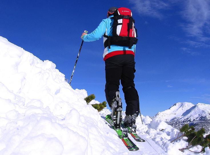 Foto: Andreas Koller / Ski Tour / Traumtour auf Spirzinger und Spazeck (2066 m) / 06.01.2010 02:13:19