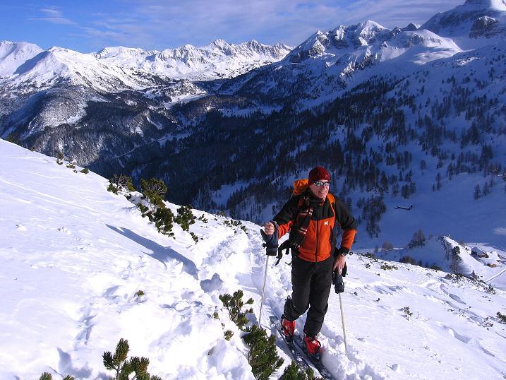Foto: Andreas Koller / Ski Tour / Traumtour auf Spirzinger und Spazeck (2066 m) / 06.01.2010 02:12:52