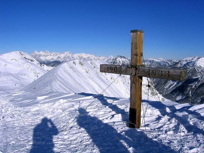 Foto: Andreas Koller / Ski Tour / Traumtour auf Spirzinger und Spazeck (2066 m) / Am Spirzinger / 06.01.2010 02:11:49