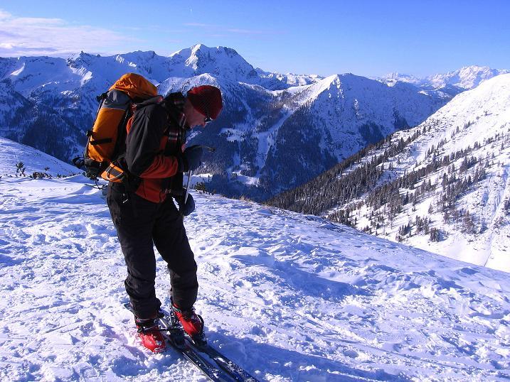 Foto: Andreas Koller / Ski Tour / Traumtour auf Spirzinger und Spazeck (2066 m) / 06.01.2010 02:11:18