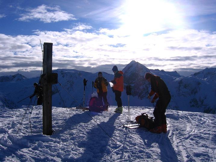 Foto: Andreas Koller / Ski Tour / Traumtour auf Spirzinger und Spazeck (2066 m) / 06.01.2010 02:10:44