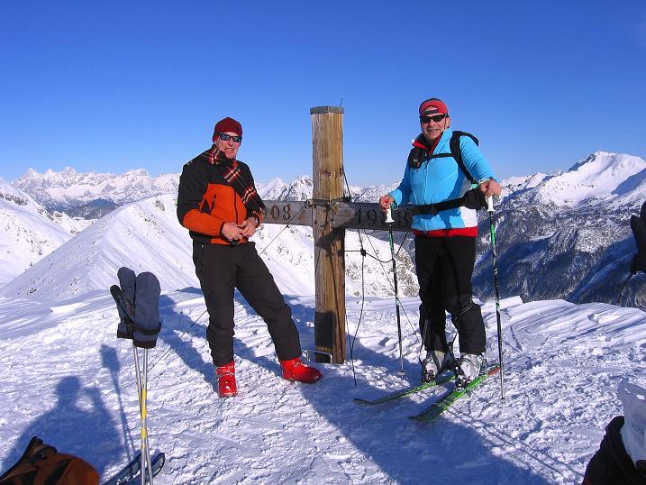 Foto: Andreas Koller / Ski Tour / Traumtour auf Spirzinger und Spazeck (2066 m) / 06.01.2010 02:10:35