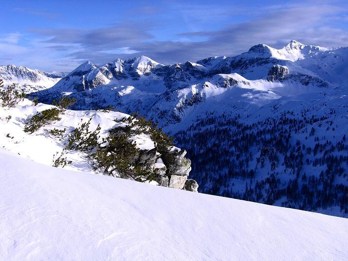 Foto: Andreas Koller / Ski Tour / Traumtour auf Spirzinger und Spazeck (2066 m) / Radstädter Tauernpass / 06.01.2010 02:09:16