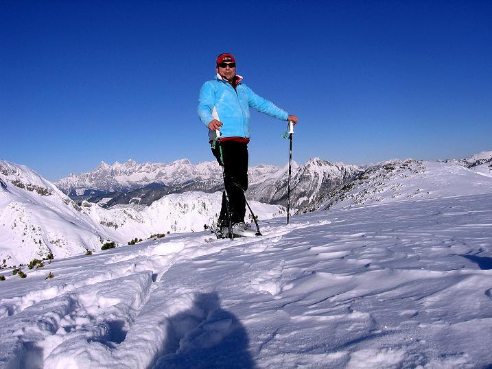Foto: Andreas Koller / Ski Tour / Traumtour auf Spirzinger und Spazeck (2066 m) / Am Spazeck / 06.01.2010 02:08:59