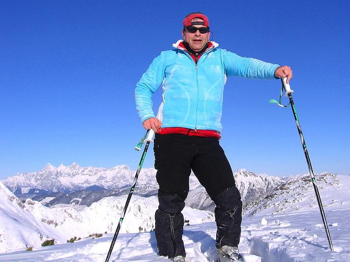 Foto: Andreas Koller / Ski Tour / Traumtour auf Spirzinger und Spazeck (2066 m) / 06.01.2010 02:08:37