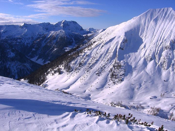 Foto: Andreas Koller / Ski Tour / Traumtour auf Spirzinger und Spazeck (2066 m) / 06.01.2010 02:07:06