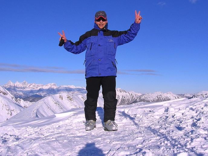 Foto: Andreas Koller / Ski Tour / Traumtour auf Spirzinger und Spazeck (2066 m) / Zurück am Spirzinger / 06.01.2010 02:06:04
