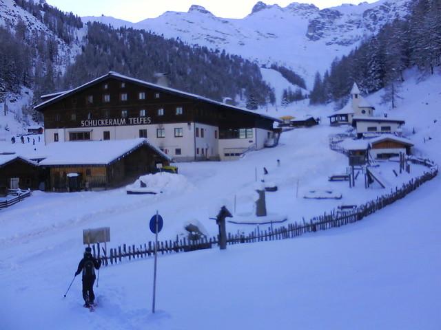 Foto: grasoh / Schneeschuh Tour / Schlicker Alm / Schlicker Alm / 06.01.2010 20:40:56