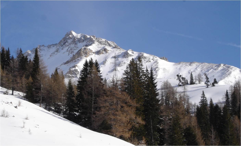 Foto: gumpiand / Ski Tour / Über die Urbanbauernalm zum Schöpfing  / Stampferwand / 07.01.2010 10:31:56