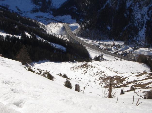 Foto: Manfred Karl / Ski Tour / Über die Hafeichtscharte auf den Großen Bärenstaffel / Raststation Tauernalm / 10.03.2013 17:37:44
