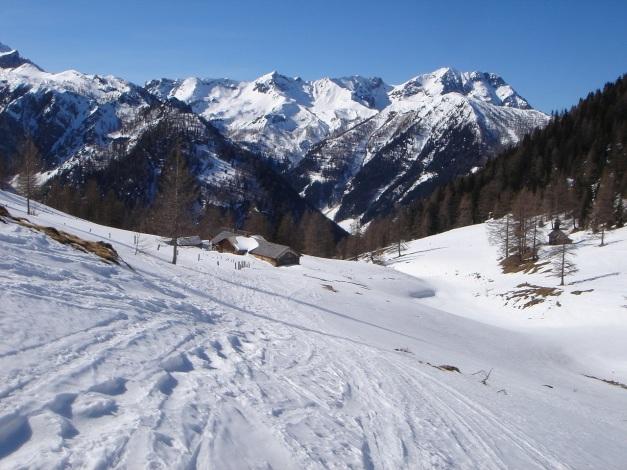 Foto: Manfred Karl / Ski Tour / Über die Hafeichtscharte auf den Großen Bärenstaffel / Hafeichtalm / 10.03.2013 17:36:51
