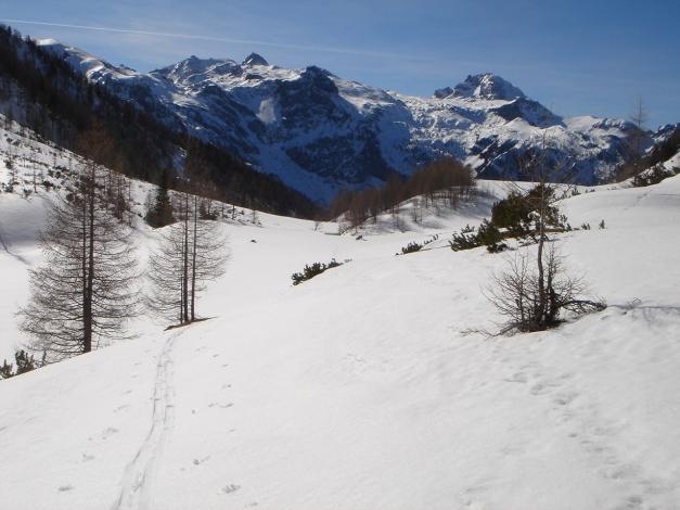 Foto: Manfred Karl / Ski Tour / Über die Hafeichtscharte auf den Großen Bärenstaffel / Mosermandl und Faulkogel / 10.03.2013 17:36:02