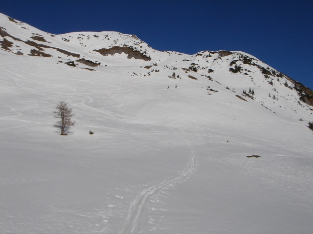 Foto: Manfred Karl / Ski Tour / Über die Hafeichtscharte auf den Großen Bärenstaffel / Großer Bärenstaffel / 10.03.2013 17:34:24