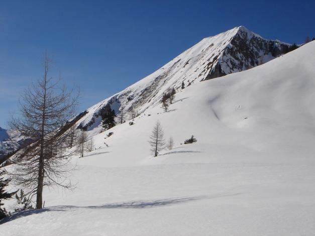 Foto: Manfred Karl / Ski Tour / Über die Hafeichtscharte auf den Großen Bärenstaffel / Windschaufel / 10.03.2013 17:33:55