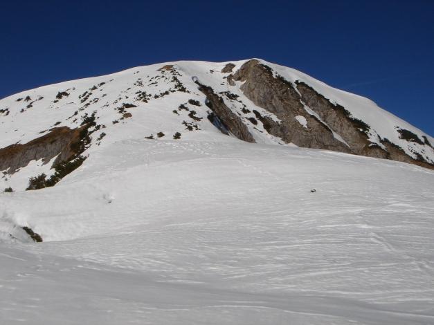 Foto: Manfred Karl / Ski Tour / Über die Hafeichtscharte auf den Großen Bärenstaffel / Gipfelanstieg / 10.03.2013 17:33:33