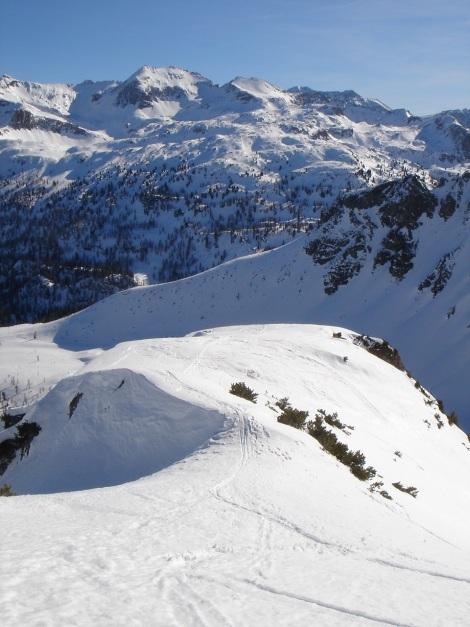 Foto: Manfred Karl / Ski Tour / Über die Hafeichtscharte auf den Großen Bärenstaffel / 10.03.2013 17:32:15