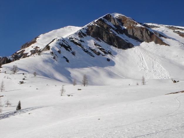 Foto: Manfred Karl / Ski Tour / Über die Hafeichtscharte auf den Großen Bärenstaffel / Steinfeldspitze / 07.01.2010 20:14:07