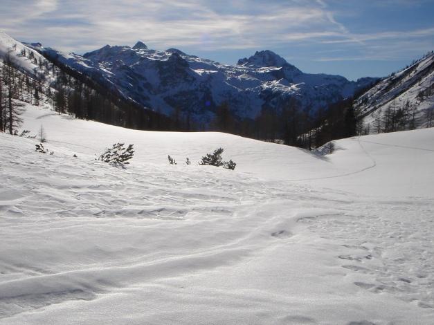Foto: Manfred Karl / Ski Tour / Über die Hafeichtscharte auf den Großen Bärenstaffel / in der Hafeichtscharte / 07.01.2010 20:01:18