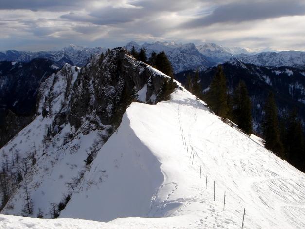 Foto: Manfred Karl / Ski Tour / Von Urschlau auf die Haaralmschneid / Gipfelgrat / 07.01.2010 20:54:42