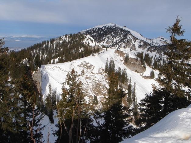 Foto: Manfred Karl / Ski Tour / Von Urschlau auf die Haaralmschneid / Hochfelln / 07.01.2010 20:54:15