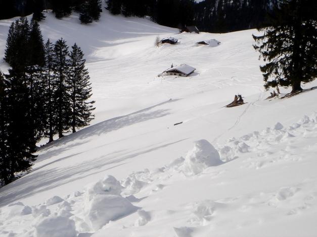 Foto: Manfred Karl / Ski Tour / Von Urschlau auf die Haaralmschneid / Haaralmen / 07.01.2010 20:52:53