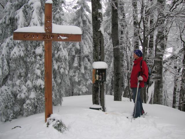 Foto: Wolfgang Lauschensky / Ski Tour / Gurlspitze 1158m / keine Gefahr zu verdursten / 08.01.2010 14:39:17