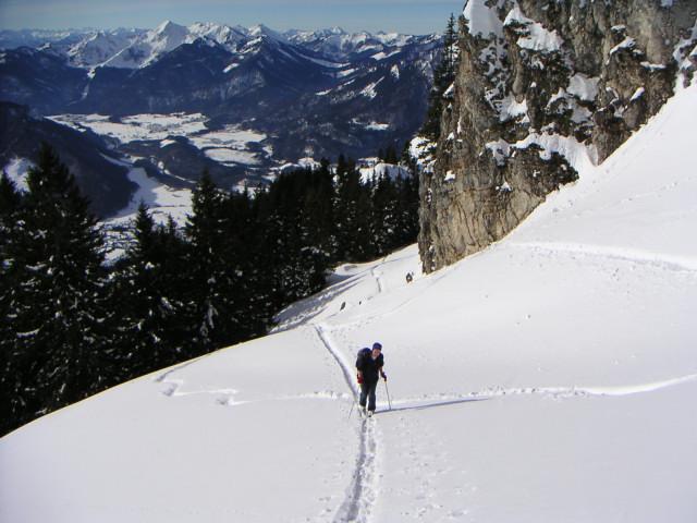 Foto: Wolfgang Lauschensky / Ski Tour / Hochgern 1743m / südlich des Zwölferspitzes / 08.01.2010 16:35:51