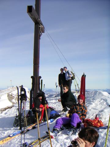 Foto: Wolfgang Lauschensky / Ski Tour / Hochgern 1743m / Westgipfel / 08.01.2010 16:35:39