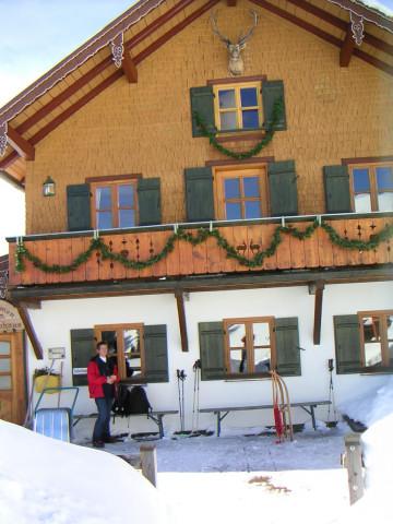 Foto: Wolfgang Lauschensky / Ski Tour / Hochgern 1743m / Hochgernhaus / 08.01.2010 16:34:47