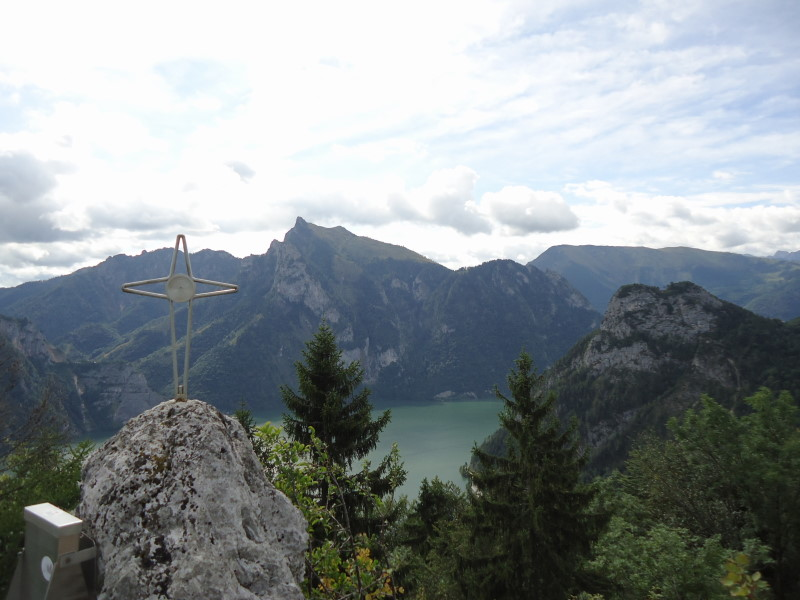 Foto: Günter Siegl / Wander Tour / Ost - Westüberschreitung Fahrnaugupf / 20.08.2014 13:54:26