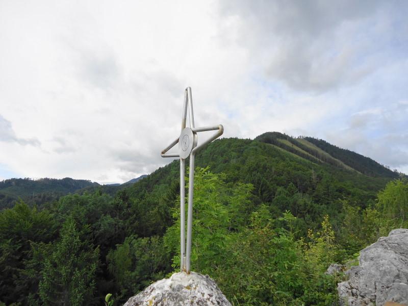 Foto: Günter Siegl / Wander Tour / Ost - Westüberschreitung Fahrnaugupf / Blick zum Fahrnaugupf / 20.08.2014 13:54:12