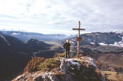Foto: Kurt Schall / Wander Tour / Pürgg – Gindlhorn: Der große Schatten des Grimming / 09.01.2010 17:34:15
